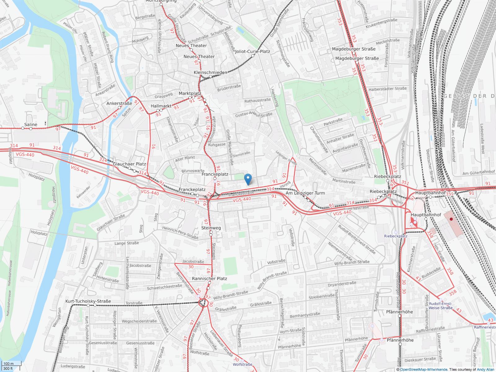 https://www.openstreetmap.org/?mlat=51.4792&mlon=11.9775#map=16/51.4792/11.9775&layers=T